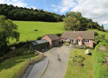 Thumbnail 3 bed detached bungalow for sale in Cregrina, Llandrindod Wells, Powys