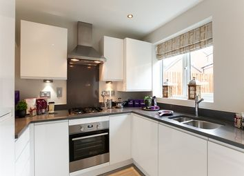 "Thumbnail 3 bed town house for sale in ""The Yarm"" at Riber Drive, Chellaston, Derby"