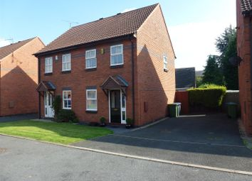 Thumbnail 2 bed detached house to rent in St Agnes Close, Studley, Warks