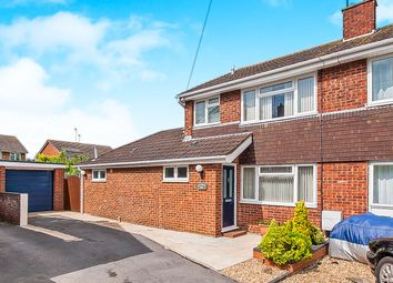 Thumbnail 4 bed semi-detached house for sale in Rockingham Road, Sawtry, Huntingdon