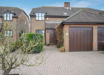 Thumbnail 3 bed semi-detached house for sale in Fraucup Close, Ford, Aylesbury