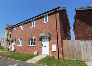 Thumbnail 3 bed semi-detached house for sale in Valley View Drive, Gt Blakenham, Ipswich