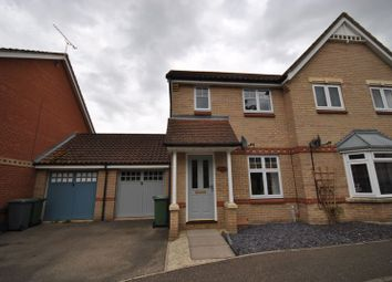 Thumbnail 2 bed semi-detached house for sale in Evans Way, Old Catton, Norwich