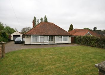 Thumbnail 3 bed detached bungalow for sale in Buckenham Road, Attleborough