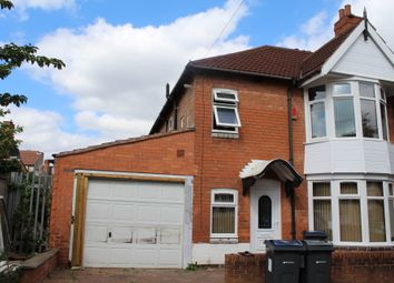 Thumbnail 3 bed terraced house to rent in Eileen Road, Sparkhill, Birmingham