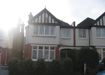 Thumbnail 2 bed flat to rent in Fernleigh Road, Wincmore Hill