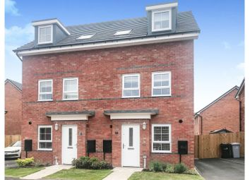 Thumbnail 3 bed semi-detached house for sale in Kellet Way, Alsager