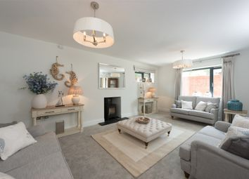 Thumbnail 4 bed detached house for sale in Wonston Road, Sutton Scotney, Winchester, Hampshire
