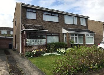 Thumbnail 3 bed semi-detached house for sale in Nimbus Close, Marton-In-Cleveland, Middlesbrough