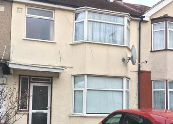 Thumbnail 3 bed terraced house to rent in Cornwell Avenue, Southall, Middlesex