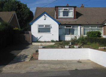 Thumbnail 3 bed semi-detached house to rent in Old Rectory Close, Hawkinge, Folkestone