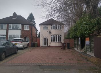 Thumbnail 3 bed detached house for sale in Hobs Moat Road, Solihull