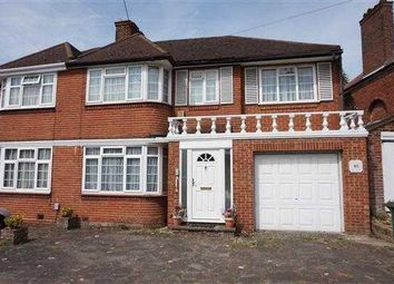 Thumbnail 4 bed semi-detached house for sale in Weston Drive, Stanmore
