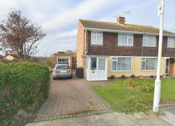 Thumbnail 3 bed semi-detached house for sale in St Lukes Close, Westgate-On-Sea, Kent
