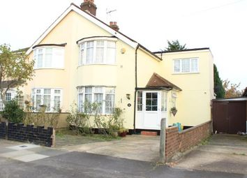 Thumbnail 2 bedroom semi-detached house for sale in Belvedere Avenue, Clayhall, Ilford