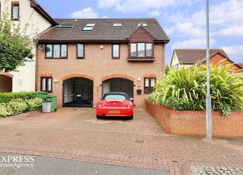 Thumbnail 4 bedroom end terrace house for sale in Newlyn Way, Port Solent, Portsmouth, Hampshire