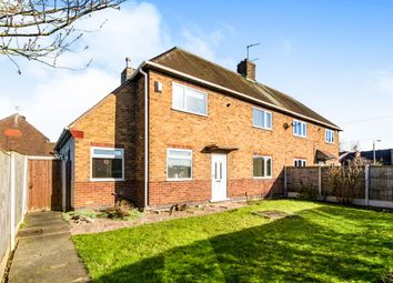 Thumbnail 3 bed semi-detached house for sale in Beech Avenue, Nuthall, Nottingham