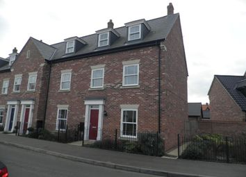 Thumbnail 3 bed end terrace house for sale in Royal Sovereign Crescent, Bradwell, Great Yarmouth