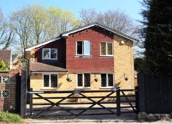 Thumbnail 4 bed detached house for sale in Aldershot Road, Fleet