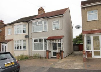Thumbnail 3 bed semi-detached house to rent in Park Crescent, Hornchurch