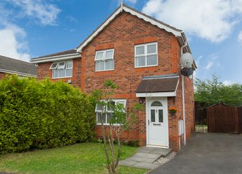 Thumbnail 3 bedroom semi-detached house for sale in Dewchurch Drive, Sunnyhill, Derby