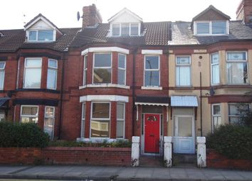 Thumbnail 4 bed terraced house for sale in Oxton Road, Wallasey