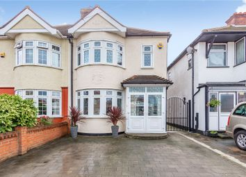 Thumbnail 4 bed semi-detached house for sale in Upminster Road North, Rainham