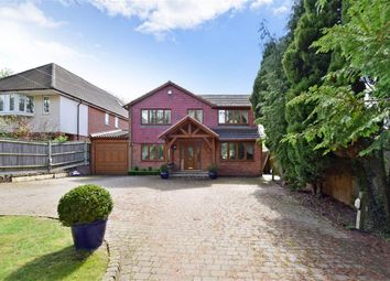 Thumbnail 4 bed detached house for sale in Manor Drive, Hartley, Longfield, Kent