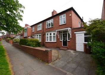 Thumbnail 3 bedroom semi-detached house for sale in Denewell Avenue, High Heaton, Newcastle Upon Tyne