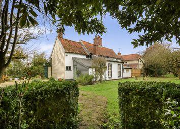 Thumbnail 3 bed semi-detached house for sale in Stradbroke Road, Brundish, Woodbridge