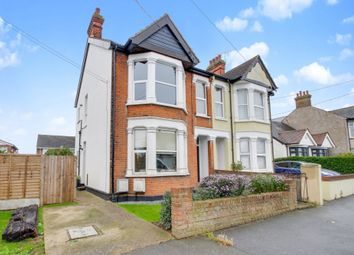 Thumbnail 2 bed flat for sale in Woodfield Road, Hadleigh, Benfleet