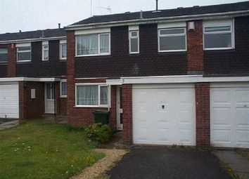 Thumbnail 3 bedroom terraced house to rent in Swanage Green, Clifford Park, Coventry, West Midlands