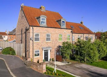 Thumbnail 3 bed town house for sale in Angel Gardens, Knaresborough, North Yorkshire