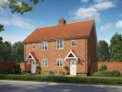 Thumbnail 1 bed terraced house for sale in The Bluebell, St Michaels Way, Off Long Lane, Wenhaston, Suffolk