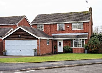 Thumbnail 4 bed detached house for sale in Somerset Drive, Leicester