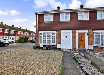 Thumbnail 3 bed end terrace house for sale in Leycroft Gardens, Erith, Kent