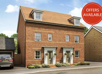 "Thumbnail 4 bedroom end terrace house for sale in ""Woodcote"" at Barmston Road, Washington"