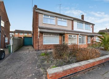 Thumbnail 3 bed semi-detached house for sale in Bruntingthorpe Way, Binley, Coventry