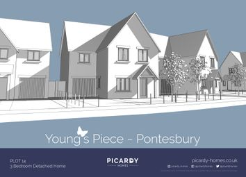 Thumbnail 3 bed detached house for sale in Plot 14 Young's Piece, Pontesbury