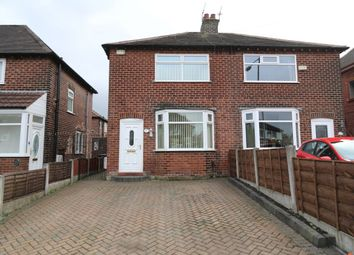 Thumbnail 2 bed semi-detached house for sale in Moorfield Avenue, Denton, Manchester