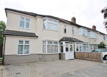 Thumbnail 4 bed end terrace house for sale in Warren Road, Ilford