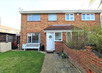 Thumbnail 3 bed semi-detached house to rent in Brindles Close, Linford, Stanford-Le-Hope