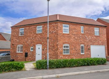 Thumbnail 3 bed detached house for sale in Haywood Close, Leicester Forest East, Leicester