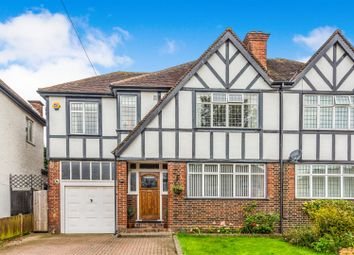 Thumbnail 4 bed semi-detached house for sale in Quarry Rise, Cheam, Surrey