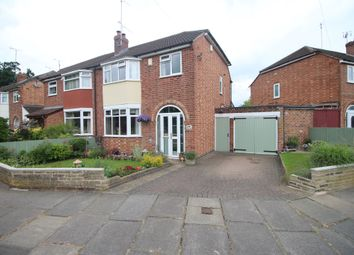 Thumbnail 3 bed semi-detached house for sale in Ashclose Avenue, Leicester