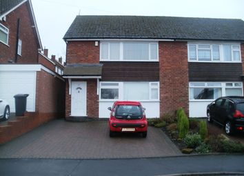 Thumbnail 2 bed maisonette to rent in St Pauls Crescent, Coleshill