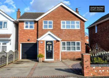 Thumbnail 4 bed detached house for sale in Larden Avenue, Scartho, Grimsby