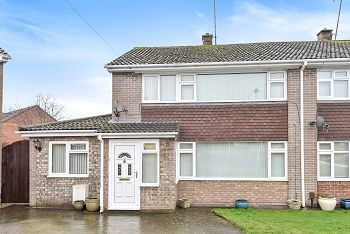 Thumbnail 4 bed semi-detached house for sale in Manor Gardens, Warminster