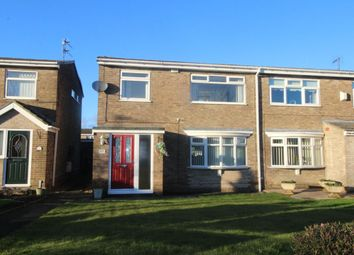 Thumbnail 3 bed semi-detached house for sale in South View, Spennymoor