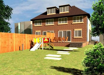 Thumbnail 4 bed semi-detached house for sale in Squires Bridge Road, Shepperton, Surrey
